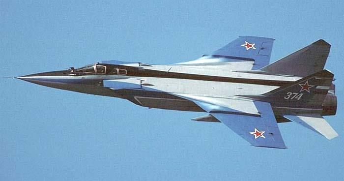 """Mig 31 """"Foxhound"""" Mig31-7"""